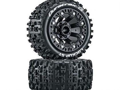 Duratrax Lockup ST 2.2 Tires, Black 2, DTXC5101