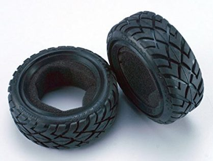 """Traxxas Bandit 1/10th buggy 2.2"""" anaconda front tires one pair TRA2479"""