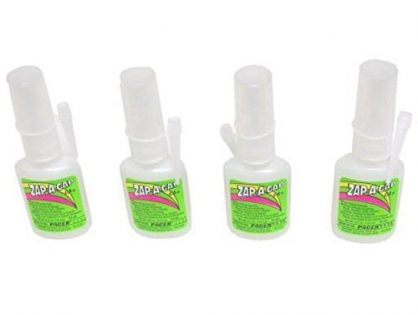 Zap-A-Gap Glue Bonds Almost Anything Super Strong .5oz