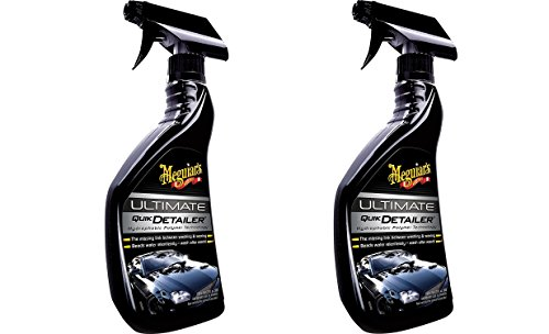 Premium Spray Detailer - 22 oz. - 2 Pack - Meguiar's G14422 Ultimate Quik Detailer