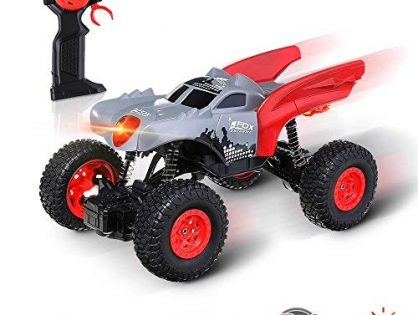 EACHINE Remote Control Car for Boys and Girls, EC04 RC Cars Off-RoadTrucks Vehicle 2.4Ghz 4WD Powerful 1: 20 Racing Climbing Cars Radio Electric Rock Crawler Buggy Hobby Toy for Kids