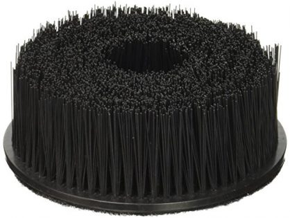 Chemical Guys Acc_201 U 1 Pack Upholstery Brush with Hook & Loop Attachment