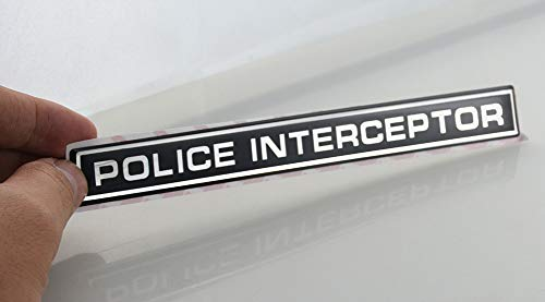 Top 9 Police Interceptor Emblem - Emblems