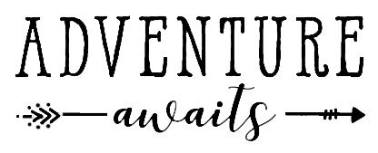 Top 10 Adventure Awaits Decal Wall - Bumper Stickers, Decals & Magnets