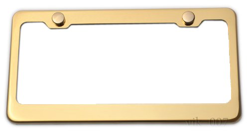 Top 10 Gold License Plate Frame - License Plate Frames