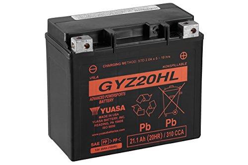 Top 10 GYZ20HL Yuasa Battery - Powersports Batteries