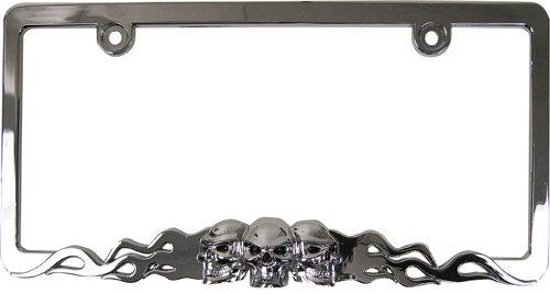 Top 10 Skull License Plate Frame for Car - License Plate Frames