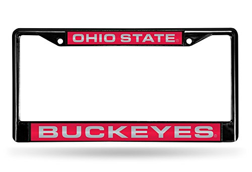 Top 10 Ohio State Buckeyes - Sports Fan License Plate Frames
