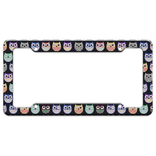 Top 9 Owl License Plate Frame - License Plate Frames
