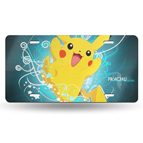 Top 9 Pikachu License Plate - License Plate Covers