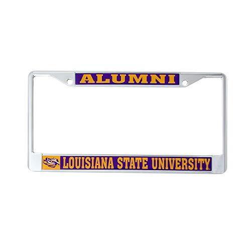 Top 6 LSU Alumni License Plate Frame - License Plate Frames