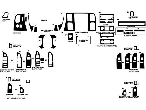 Top 10 Dash Kit Decal Trim - Automotive Body Parts