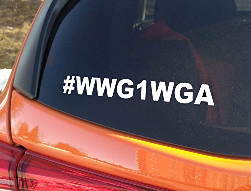Top 6 WWG1WGA Car Decal - Bumper Stickers, Decals & Magnets