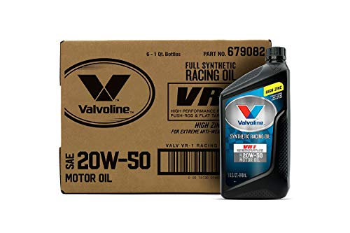 Top 9 VR1 20w50 Synthetic - Motor Oils