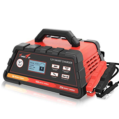 Top 10 2/10/25A 12V Smart Battery Charger - Automotive Replacement Batteries & Accessories