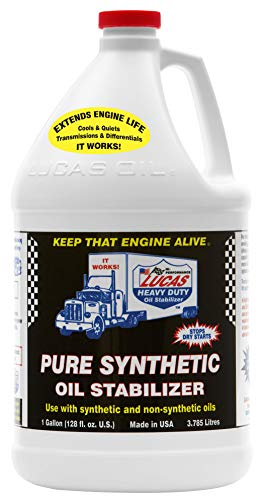 Top 8 Lucas Pure Synthetic Oil Stabilizer - Engine & Oil Fluid Additives