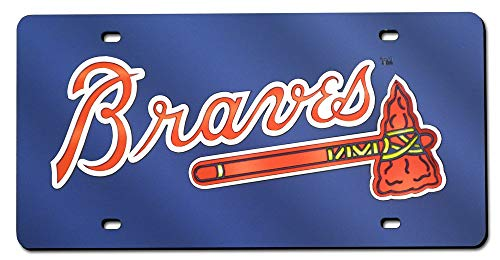 Top 10 Braves License Plate - Sports Fan License Plate Covers