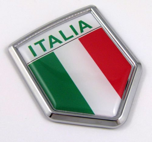 Top 7 Italian Flag Car Decal - Bumper Stickers, Decals & Magnets