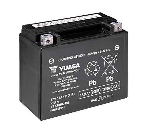 Top 9 YTX20HL-BS Yuasa - Powersports Batteries