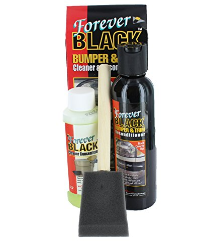 Top 10 Forever Black Bumper & Trim Kit - Automotive Plastic Care Products
