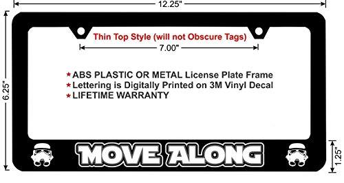 Top 7 Star Wars License Plate Frame - License Plate Frames