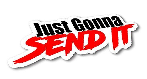 Top 5 Send It Sticker - Bumper Stickers, Decals & Magnets