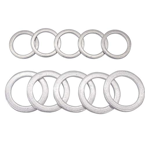 Top 10 20mm Crush Washer Honda - Automotive Replacement Drain Plug Gaskets