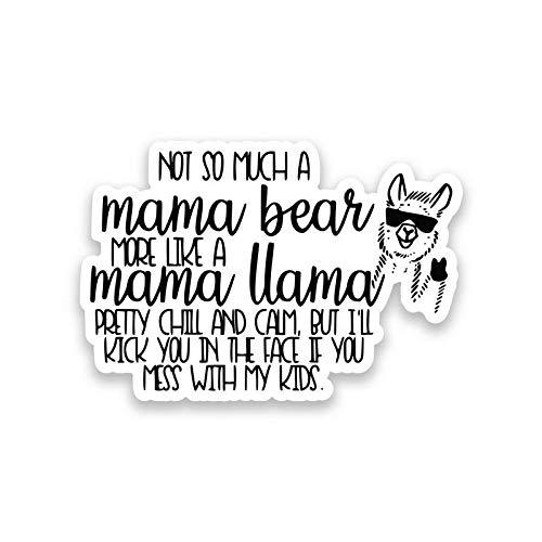 Top 10 Mama Llama Sticker - Bumper Stickers, Decals & Magnets