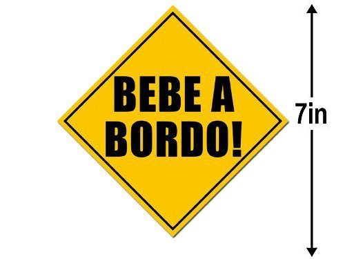 Top 10 Bebe A Bordo - Bumper Stickers, Decals & Magnets