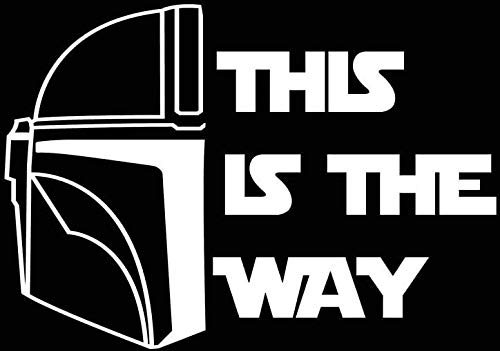 Top 7 This is The Way Car Decal - Bumper Stickers, Decals & Magnets