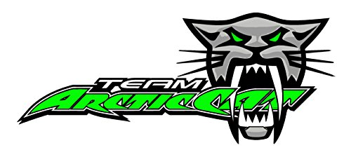 Top 8 Team Arctic Cat Decal - Bumper Stickers, Decals & Magnets