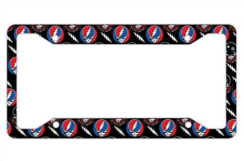 Top 9 Grateful Dead License Plate Frames - License Plate Frames