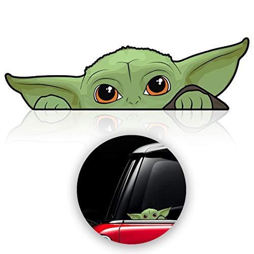 Top 10 Yoda Car Sticker - Bumper Stickers, Decals & Magnets