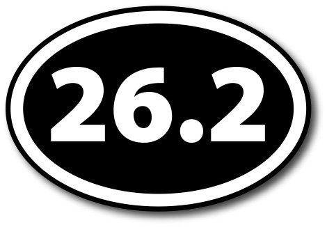 Top 9 Marathon Car Decal - Bumper Stickers, Decals & Magnets