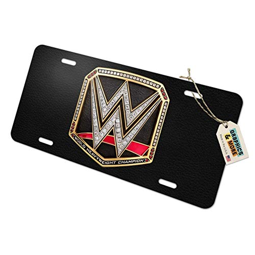 Top 10 WWE License Plate - License Plate Covers