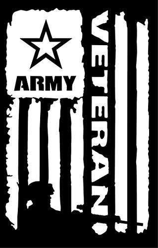 Top 8 Army Veteran Decal - Bumper Stickers, Decals & Magnets