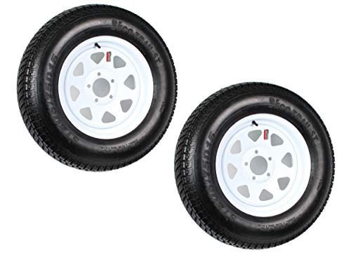 Top 10 ST205/75D15 5x5 - Trailer Tire & Wheel Assemblies