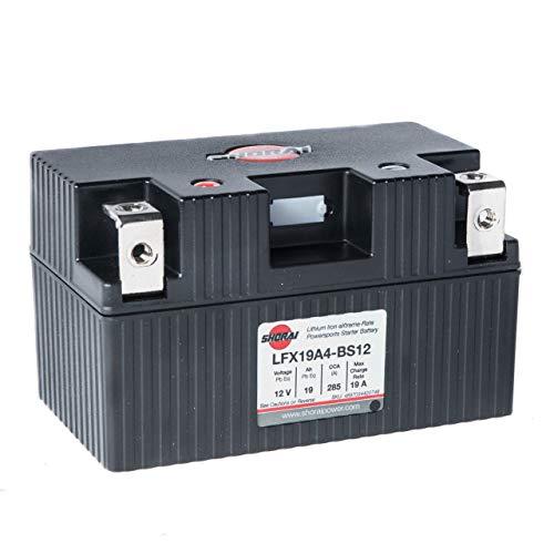 Top 10 Shorai Lithium Battery LFX19A4-BS12 - Powersports Batteries
