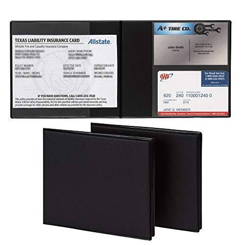 Top 9 Registration and Insurance Card Holder - Glove Box Organizers