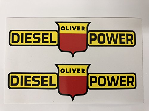 Top 4 Oliver Tractor Sticker - Bumper Stickers, Decals & Magnets