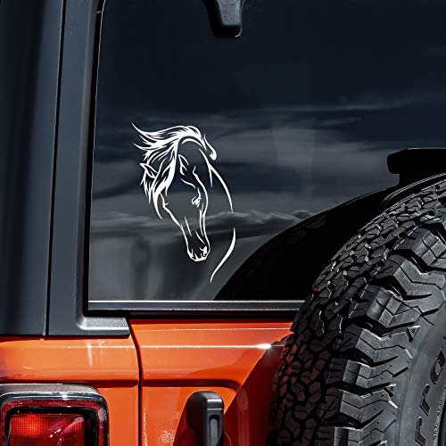 Top 10 Horse Car Decal - Bumper Stickers, Decals & Magnets