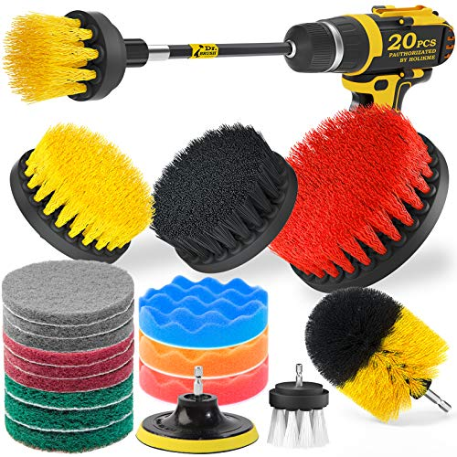 Top 10 Drill Brush Set - Household Cleaning Brushes