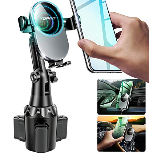 Top 10 Phone Cup Holder for Car Wireless Charger - Cell Phone Automobile Cradles