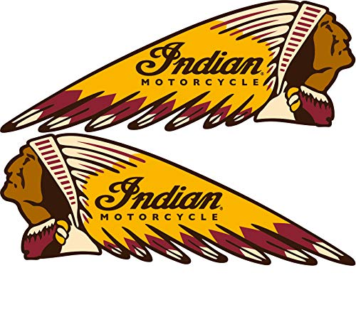 Top 8 Indian Motorcycle Decal - Bumper Stickers, Decals & Magnets