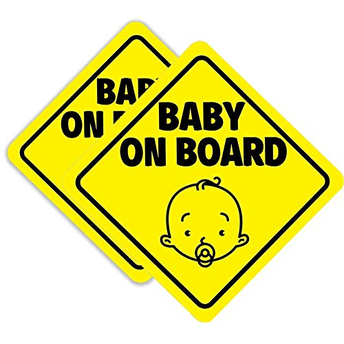 Top 10 Baby on Board for Car - Bumper Stickers, Decals & Magnets