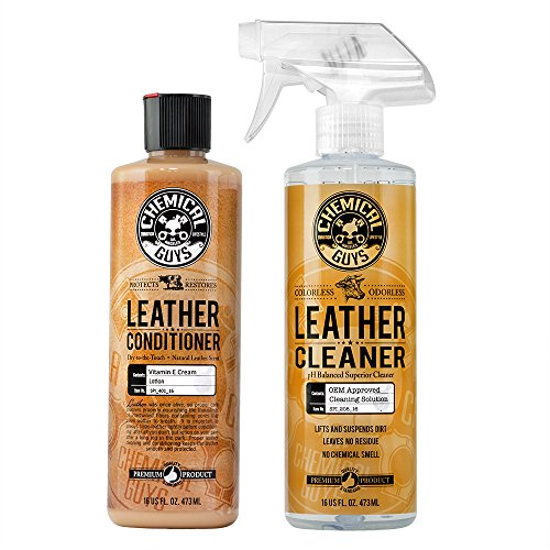 Top 10 Chemical Guys Leather Cleaner and Conditioner Kit - Leather Care Products