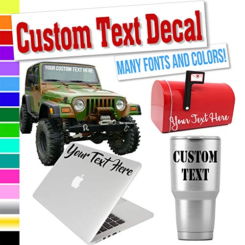 Top 10 Name Decal Stickers - Bumper Stickers, Decals & Magnets