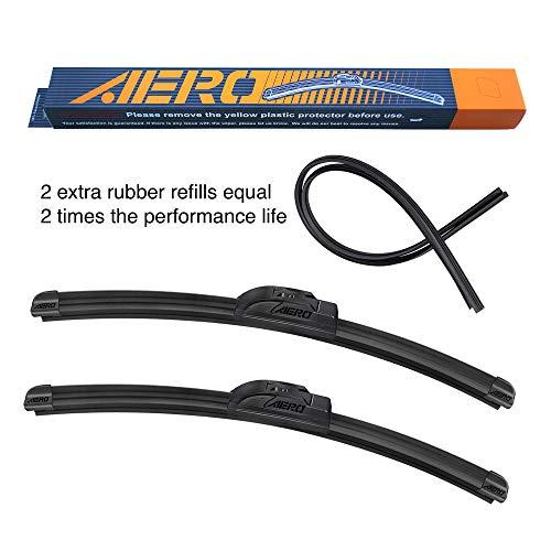 Top 9 AERO Wiper Blades 24 20 - Automotive Replacement Windshield Wiper Blades
