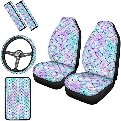 Top 10 Mermaid Seat Covers for Cars - Automotive Seat Cover Accessories