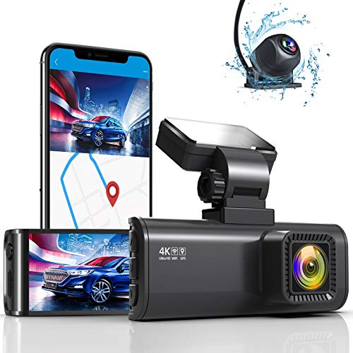Top 9 Dash Camera for Cars Front and Rear with WiFi - Car On-Dash Mounted Cameras